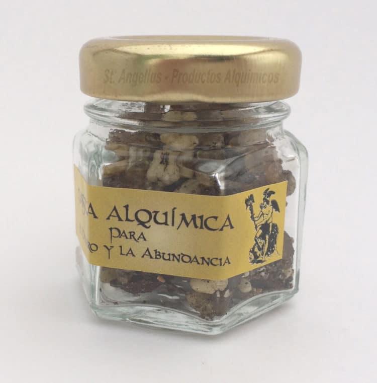 Pasta Dinero y Abundancia, Pasta Alquímica, Alquimia, Dinero. Riqueza, Abundancia, Prosperidad